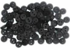 Knöpfe - Tiny black buttons
